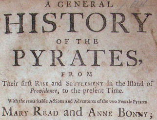 A General History of Pyrates