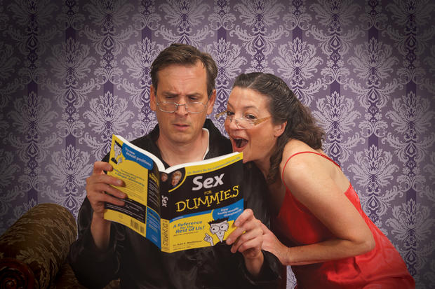 Henry (John Middleton) and Alice (Charity Jones) try to rekindle their romance in Sexy Laundry.