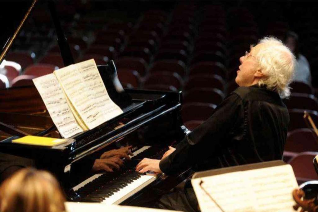 Pianist Richard Goode in concert.