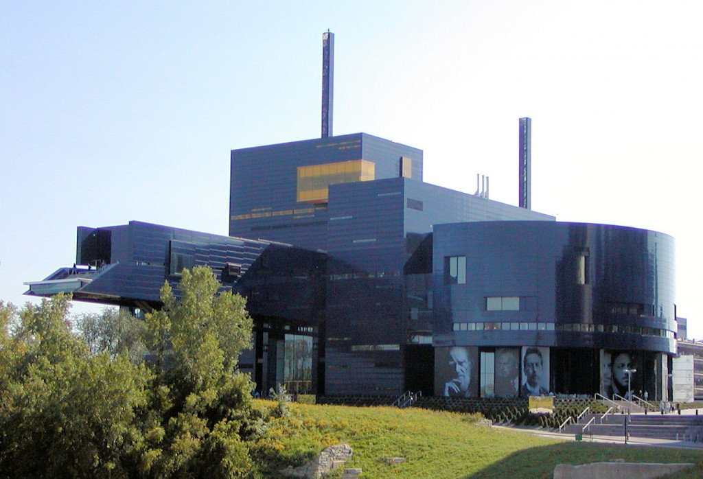 The Guthrie Theater.